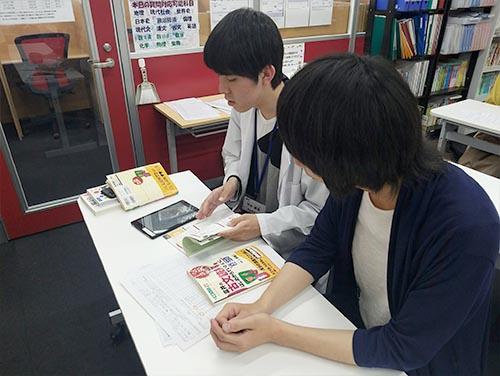 武田塾大阪校のトレーニング風景1