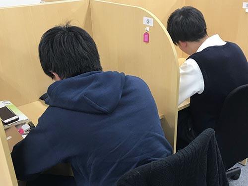 武田塾堺東校のトレーニング風景1