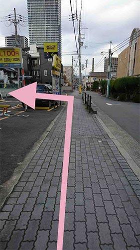阪急電鉄から武田塾高槻校のへのアクセスその5
