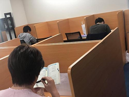 武田塾上本町校のトレーニング風景3