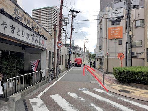 武田塾西宮北口校のへのアクセスその4