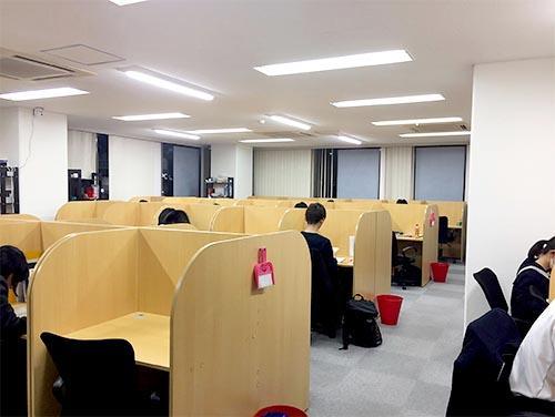 武田塾西宮北口校のトレーニング風景3